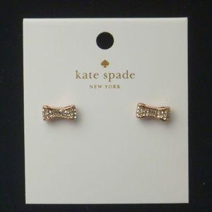 Kate Spade Earrings Ready Set Bow